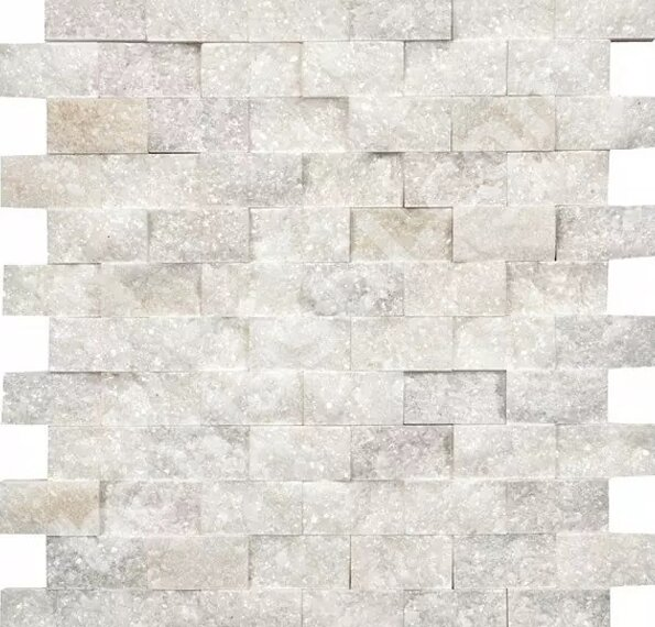 Мозайка Crystal White AKSF-9052 - Betas Glass Mosaic