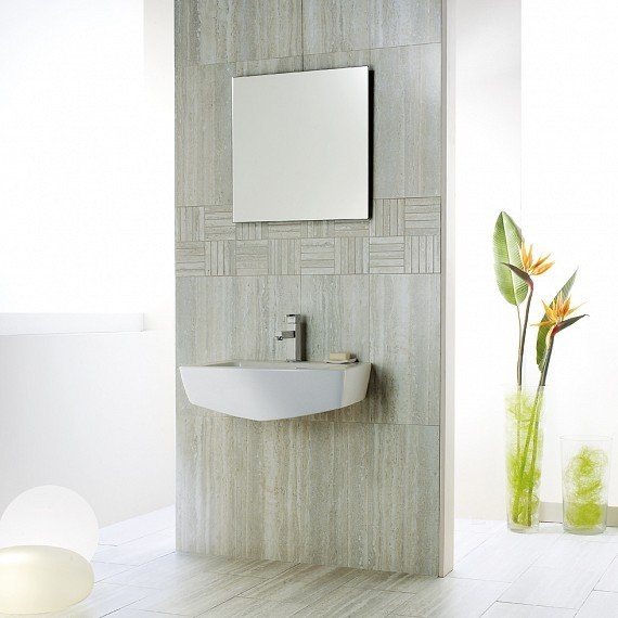 Гранитогрес Travertine In Falda Silver