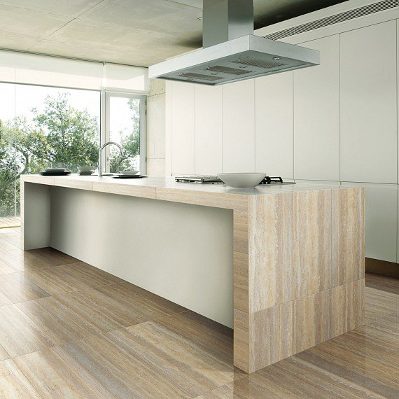 Гранитогрес Travertine In Falda Walnut