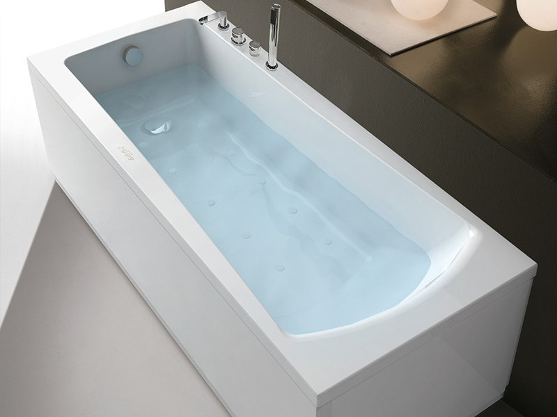 Хидромасажна вана Eva Professional Whirlpool Airpool 180x80см - Hafro