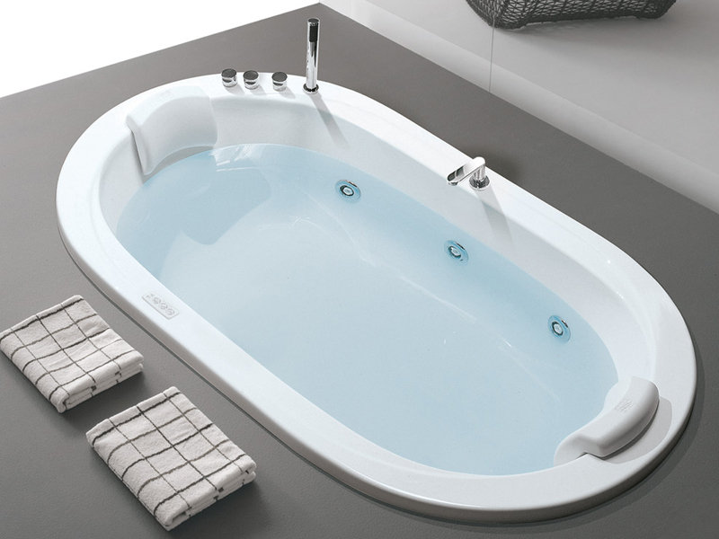 Хидромасажна вана Oasy Professional Whirlpool Airpool 195x115см - Hafro