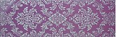 Decor Purpura Glitter Plata